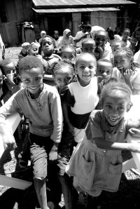 Ethiopian Children by Clive Chilvers